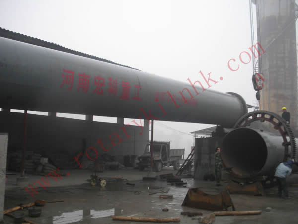 customer sites-rotary kiln