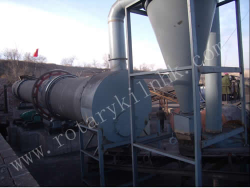 Coal Slime Rotary Dryer