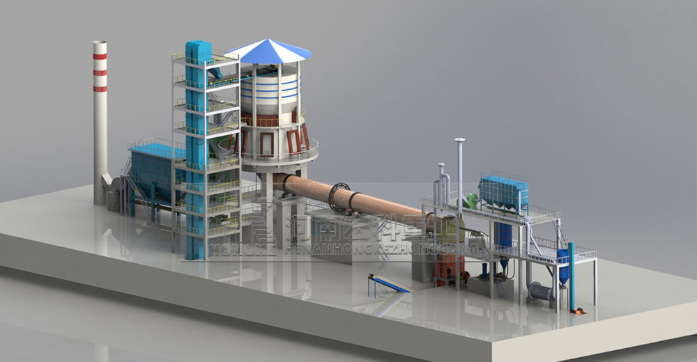 Lime Rotary Kiln Process